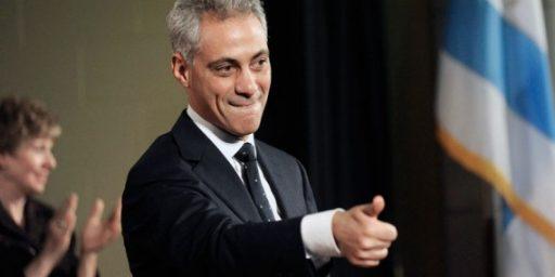 "Rahm Emanuel's Odd Idea Of ""Chicago Values"""