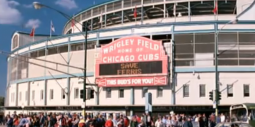 Mystery Solved: What Cubs Game Did Ferris Bueller See On His Day Off?