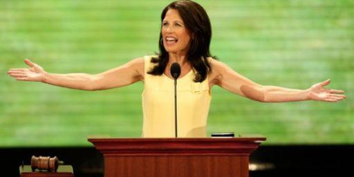 "Michele Bachmann ""Leaning Toward"" Presidential Run"