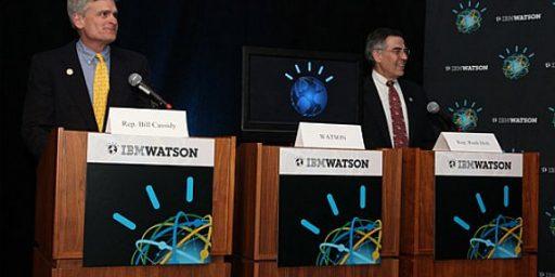 Congressman Beats Supercomputer At Jeopardy
