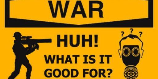 "<strike>War.</strike> <strike>Kinetic Military Action.</strike> ""Time-Limited, Scope-Limited Military Action""?"