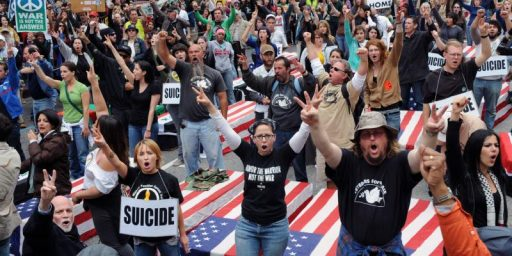 Where Did The Antiwar Movement Go?