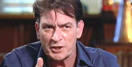 Charlie Sheen Symbolizes Western Decadance