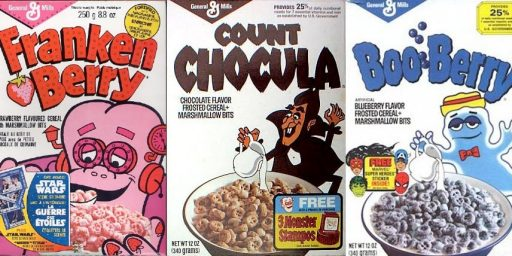Count Chocula and Franken Berry