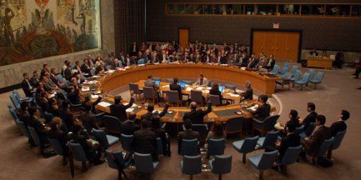 United Nations Authorizes Military Action Against Libya
