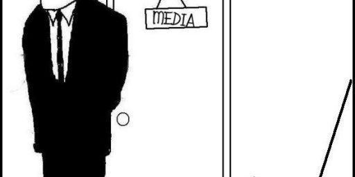 Biden Puts Reporter in Closet
