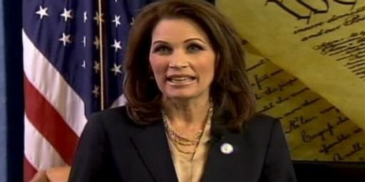 "Michele Bachmann Refuses Chris Wallace's Apology For ""Flake"" Question"