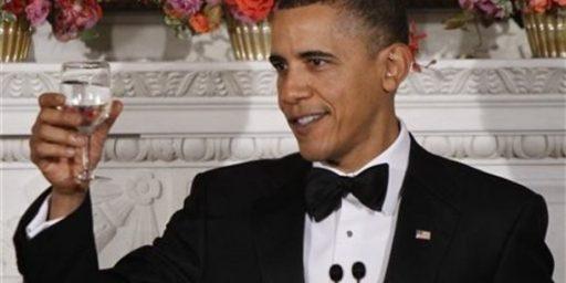President Obama Secretly Receives Transparency Award