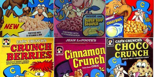 Obama Killed Cap'n Crunch