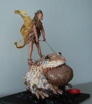 DoD Spending $600,000 on Sculpture of Fairy Riding Toad