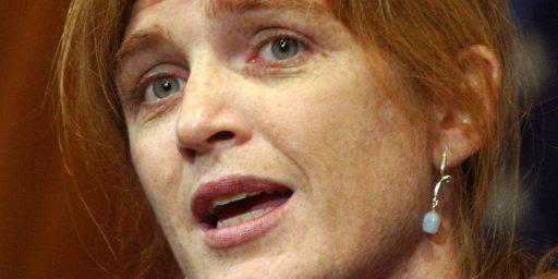 Samantha Power: Patriot's Nightmare?