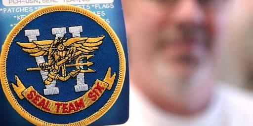 "Disney Drops Bid To Trademark ""SEAL Team Six"""