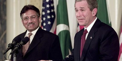 "Report: Decade Old ""Secret Deal"" With Pakistan Authorized Raid Against Bin Laden"