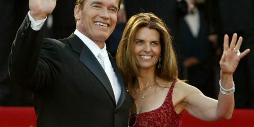 Schwarzenegger/Shriver Split Due To Love Child