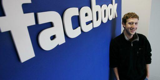 Mark Zuckerberg World's Third-Richest Person