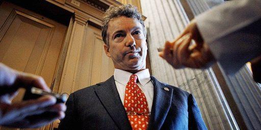 Rand Paul Delays Renewal Of PATRIOT Act