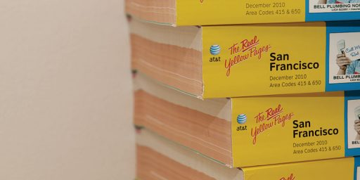 San Francisco Moves To Ban Delivery Of Unrequested Phone Books