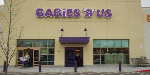 "Babies ""R"" Us Sells Defective Cribs, Won't Refund or Exchange"