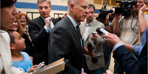 Jerry Brown's Game