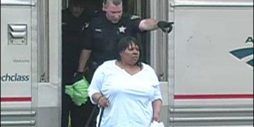 Loud Cell Phone Talker Arrested