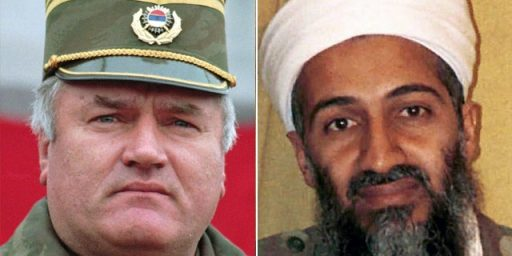 Ratko Mladic and Osama bin Laden