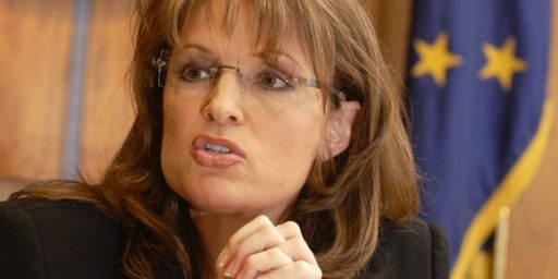 """Sarah Palin Says She Has """"The Fire In The Belly"""""""