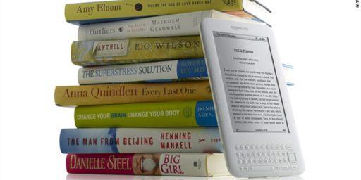 Amazon Now Sells More E-Books Than Print Books