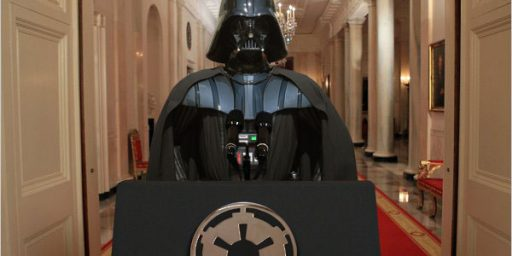 So, Are They Saying That Obama Is Darth Vader?