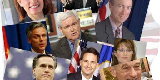 Supreme Being Hedging Bets In Race For 2012 GOP Nomination