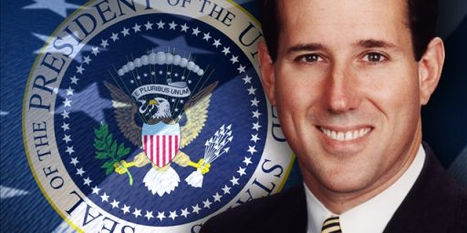 Santorum on Suffering and Death