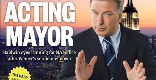 Mayor Alec Baldwin?
