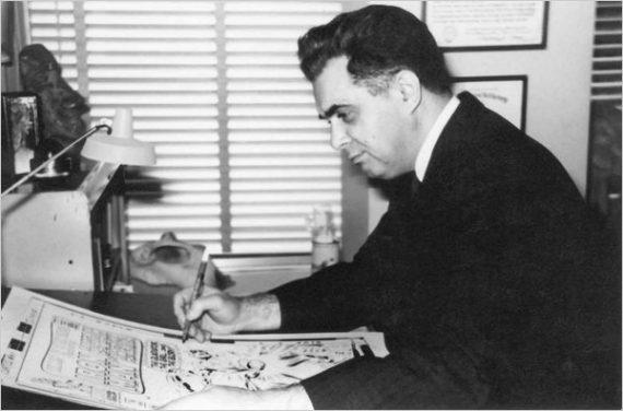 Jack Kirby in 1965. (Rosalind Kirby Estate)
