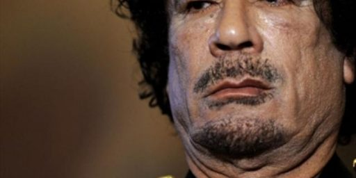 Gaddafi and the ICC: Meaningless, Unfair, or Both?