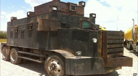 """The Mexican Cartel's """"Narco-Tanks"""""""