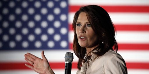 "Michele Bachmann's ""Stress-Related"" ""Incapacitating"" Headaches Are Fair Game"