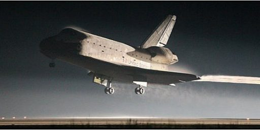 Atlantis Lands For The Last Time, Shuttle Program Comes To An End