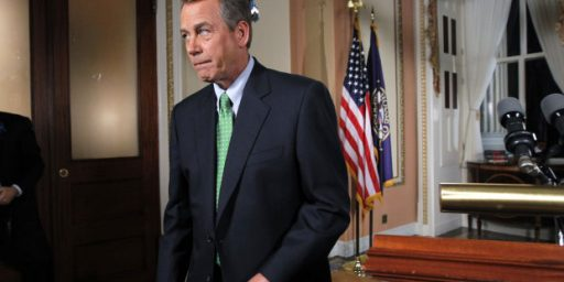 "Tea Party Crowd Launching Another Phony ""Challenge"" To John Boehner"