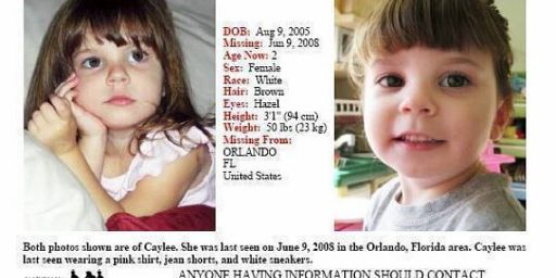 "Dead Children Make For Bad Laws: The Case Against ""Caylee's Law"""