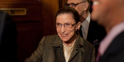 Liberals Want Justice Ginsburg To Resign Before 2012 Elections?