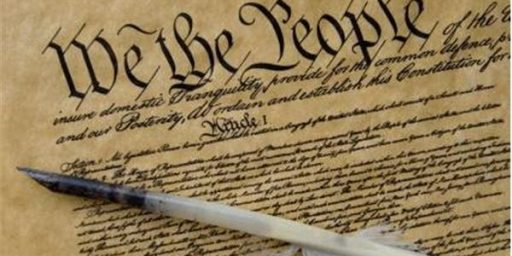 Design and Intent:  Some Musing about the Constitution