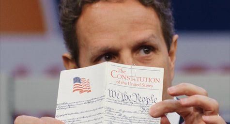 Geither: Defaulting on Debt Unconstitutional