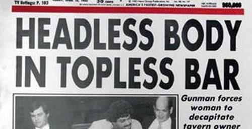 Author Of The Best Headline Ever Retires