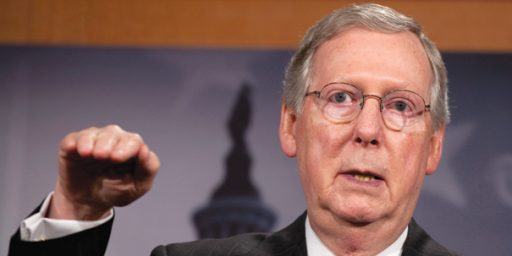 Secret McConnell Tape Records Politicians Being Politicial