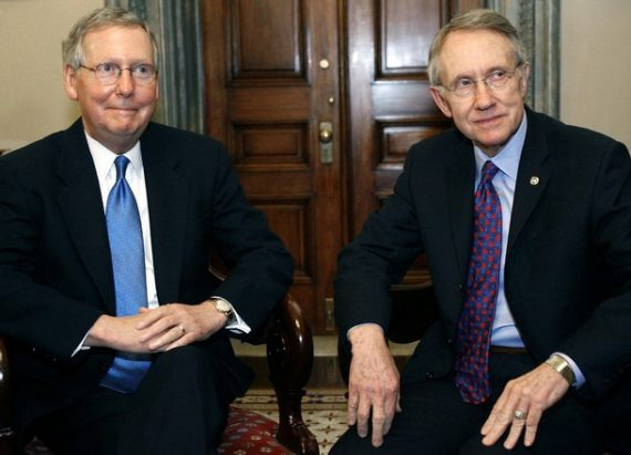 Mitch Mcconnell Harry Reid Deal On Debt Entitlements