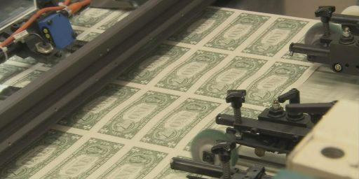 Treasury Printing Less Currency As Cash Use Declines