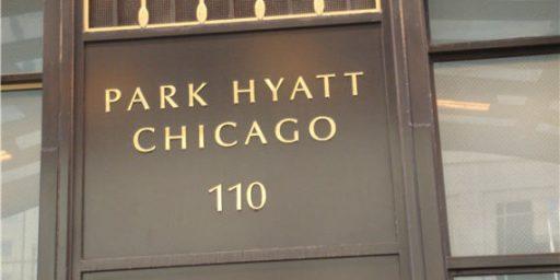 Hyatt Turns Heat Lamps on Strikers