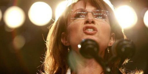 Sarah Palin Continues To Want Us To Think She Might Run For President