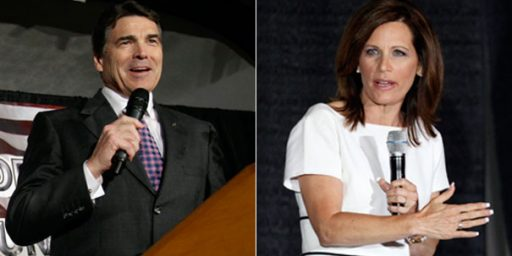Rick Perry v. Michele Bachmann: Is It Even Really A Contest?