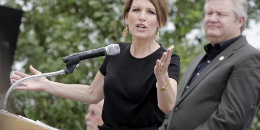 "Michele Bachmann And The ""Submission"" Question: Byron York Was Right"
