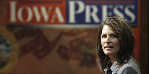 Michele Bachmann: Still A Debt Kamikaze, Still Completely Wrong